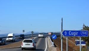 Autostrada Sibiu - Orastie - pasajul rutier de la Sibot