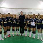 """CS Ocna Mureş s-a clasat pe poziţia a treia la turneul internaţional de volei """"Cupa de Toamnă"""" de la Oradea"""