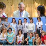 O ocnamureșeancă a avut onoarea să-l întâlnească pe Prinţul Charles, la București