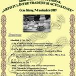 Ocna Mureș va fi gazda reuniunii naţionale a profesorilor de folclor din Şcolile de Arte din România
