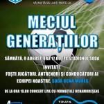 """8 august: Relansarea fotbalului local din Ocna Mureș – """"Meciul generaţiilor"""", lansare de carte şi concerte"""