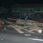 O căruță a fost lovită de un autoturism la Noșlac