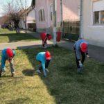 """Copiii de la Așezământul social """"Sfântul Mucenic Ciprian"""" din Ocna Mureș sunt adevăraţi ecologişti"""