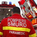 Doi bărbați din Ocna Mureș răniți în urma unui accident rutier petrecut pe DN1
