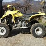 Tânăr din Ciugudu de Sus surprins în timp ce conducea un ATV neînmatriculat prin localitate, fără să dețină permis de conducere