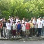 Acţiune de curățenie prin voluntariat în oraşul Ocna Mureş