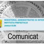 Instituţia Prefectului – Judeţul Alba face ultimele pregătiri pentru alegerile din 9 decembrie