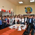 Martirii temniței comuniste din Aiud cinstiți și comemorați de elevii din Ocna-Mureș