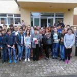 """Elevii de clasa a VIII-a de la Școala Gimnazială """"Avram Iancu"""" din Unirea au participat la Târgului Liceelor, desfășurat la Colegiul """"Titu Maiorescu"""" din Aiud"""