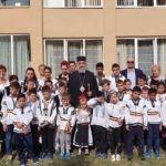 """Vizită pastorală efectuată de ÎPS Irineu la Aşezământul social """"Sfântul Mucenic Ciprian"""" din Ocna Mureş"""