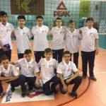 """Echipa de volei masculin a Liceului Teoretic """"Petru Maior"""" Ocna Mureș – Locul 4 la Gimnaziadă"""