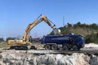 Lucrările de construcție la Băile Sărate din Ocna Mureș sunt în plină desfășurare