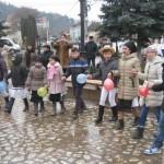 """Mica Unire de la 1959 a fost sărbătorită de copiii de la Aşezământul social """"Sfântul Mucenic Ciprian"""" din Ocna Mureş"""