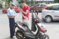 Bărbat de 36 de ani din Luna, surprins de polițiștii din Lunca Mureșului în timp ce conducea fără permis un moped pe raza localității Gura Arieșului
