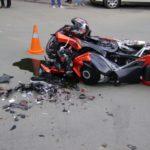 Accident rutier pe DJ 107G provocat de un motociclist din județul Mureș care avea permisul de conducere suspendat