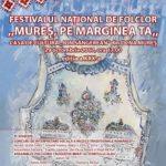 """Duminică, 29 octombrie 2017: 20 de tineri interpreți își vor da concursul pe scena celui mai vechi festival de folclor din Transilvania – """"Mureş pe marginea ta"""""""