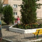 Un nou parc pentru copii, construit în Ocna Mureș, de voluntari olandezi