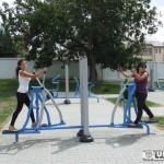 """Parc de fitness la Ocna Mureș, prin proiectul """"Alba Urban"""""""