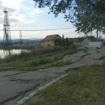 """La Ocna Mureş, după trei ani, în zona gropii """"Plus"""" a fost reluat traficul rutier"""