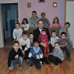 Copiii din Aşezământul Social Filantropia din Ocna Mureş au primit cadouri de ziua copilului
