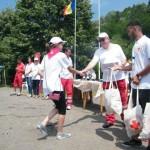 """Filiala de Cruce Roşie Alba reprezentată la Etapa Naţională a Concursului """"Sanitarii Pricepuţi"""" de echipajul Şcolii Gimnaziale """"Lucian Blaga"""" din Ocna Mureş"""