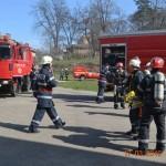 Pompierii au simulat ieri, la Ocna Mureș, o acțiune de salvare și limitarea efectelor negative produse de o surpare de teren