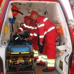4 persoane au suferit răni ușoare în urma coliziunii a două autoturisme la Ocna Mureș