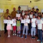 """Turneu de șah pentru elevi, """"Regele Șahului"""", de la Ocna Mureș și-a desemnat câștigătorii"""