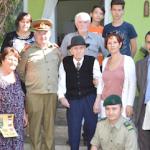 Veteranul de război Gheorghe Chiorean, sărbătorit de camarazi la 101 ani