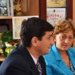 Ambasadorul României în Suedia în vizită oficială la Ocna Mureș